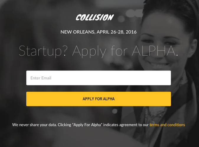 Just launched a start-up in tech? Gain visibility by applying for ALPHA