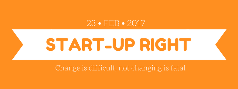 Start-up Right - Change