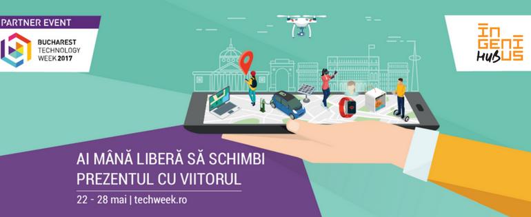 Call for event proposals: Ingenius Hub pentru Bucharest Technology Week!