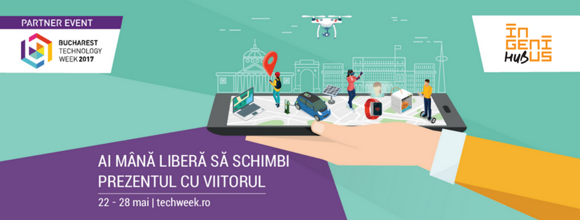 Call for event proposals: Ingenius Hub pentru Bucharest Technology Week!
