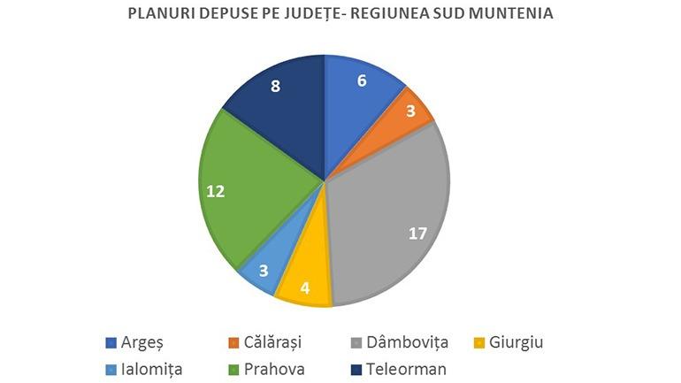 Planuri judete Sud Muntenia