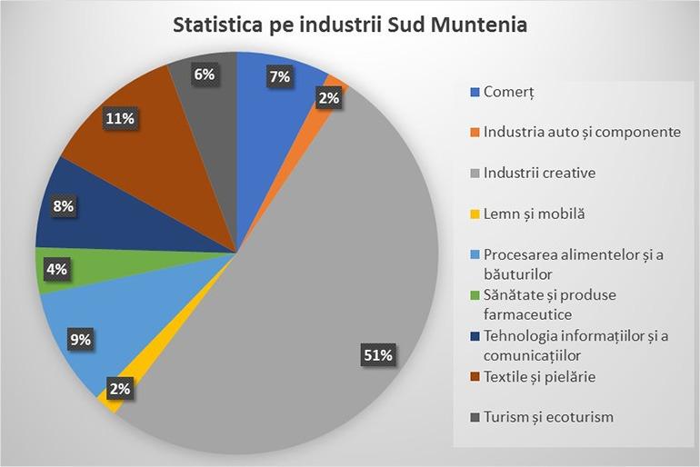 Statistica Sud Muntenia