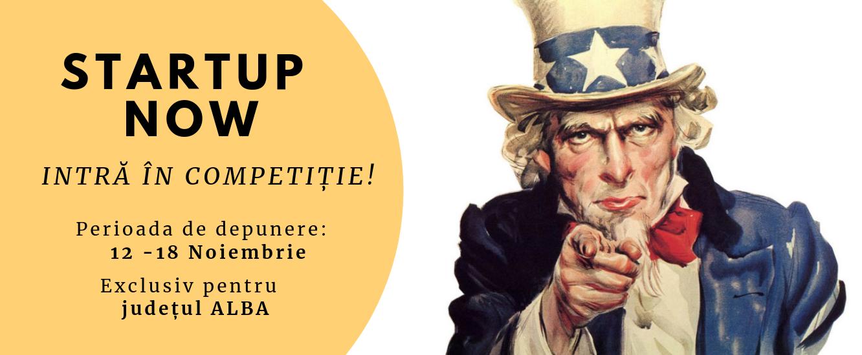 StartUp Now – intră în competiție!
