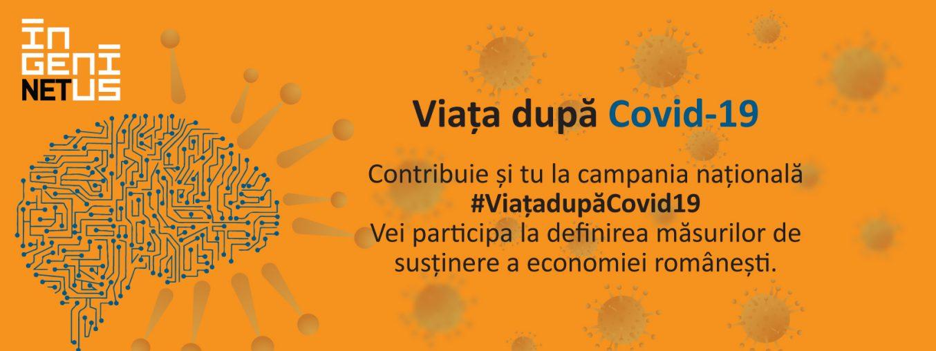 Ingenius Hub lanseaza cercetarea nationala cu privire la impactul COVID-19 asupra economiei romanesti