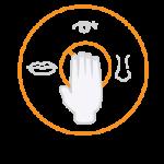 covid icon evita contactul