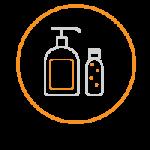 covid icon foloseste sapun gel