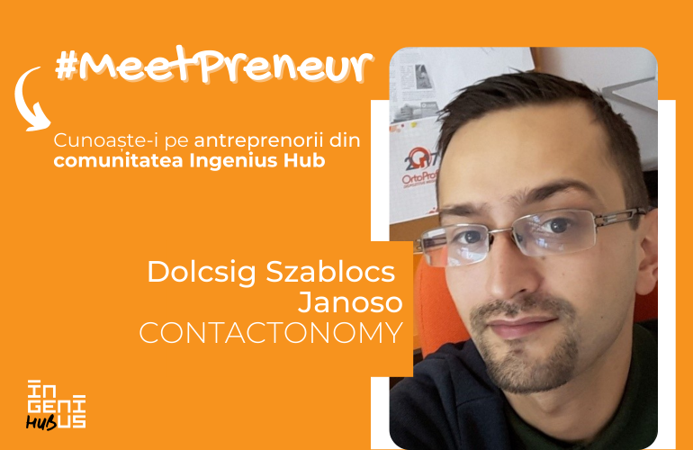 #MeetPreneur | Contactonomy | Meniuri Contactless