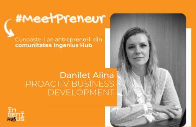 #MeetPreneur - Alina Danilet